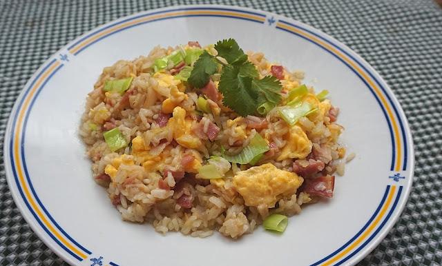 ARROZ FRITO🍚🍳 súper suelto 🍳🍚 (receta DELICIOSA con huevo)