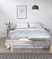 Minimalist bedroom furniture selection