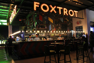 foxtrot gastropub bar counter