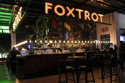 foxtrot gastropub bar counter
