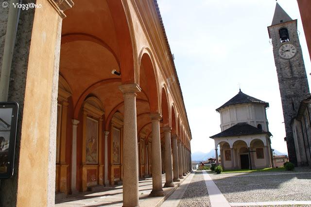 Il complesso di Baveno con Battistero e Porticato