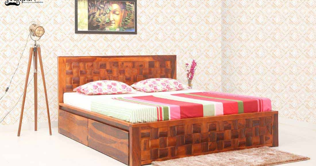 Sheesham Wood Bed in Bangalore   Sheesham Wood Furniture ...