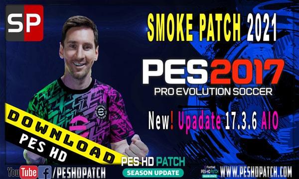 PES 2017 Smoke Patch Update 17.3.6