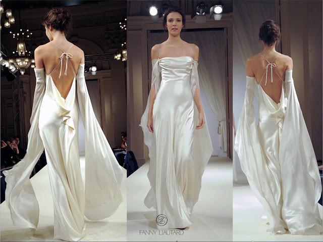 Robe de mariée @ Fanny Liautard