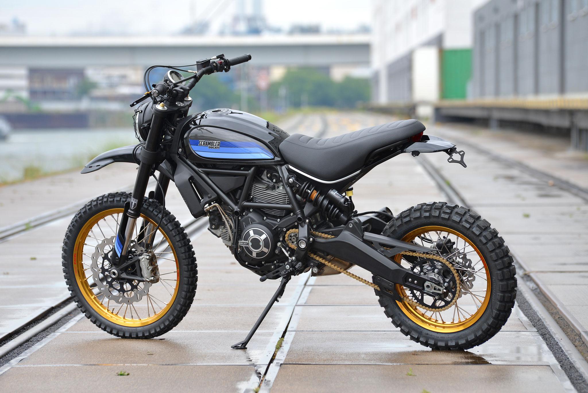 Ducati Scrambler Desert Sled Fasthouse. Nuova Limited