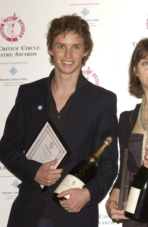 Eddie Redmayne honoured at Critics' Circle Theatre Awards