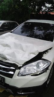 Mobil Anggota DPRD Karawang Menjadi Korban Tabrakan Beruntun di Jalan Tol Cikampek