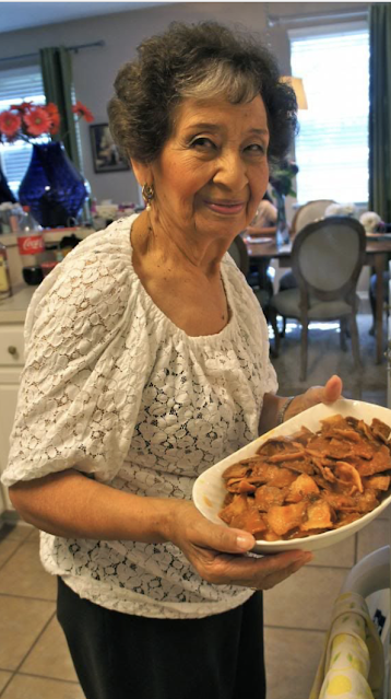 Chilaquiles Recipe @ www.milgrageas.blogspot.com