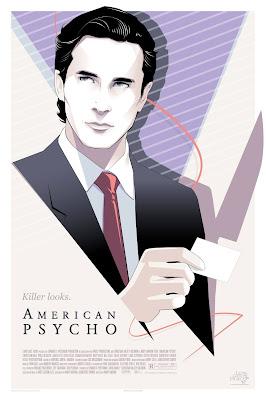 American Psycho Screen Print by Craig Drake x Mondo