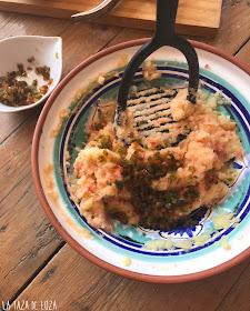 mezcla-de-patata-tomate-pimiento-y-ajo