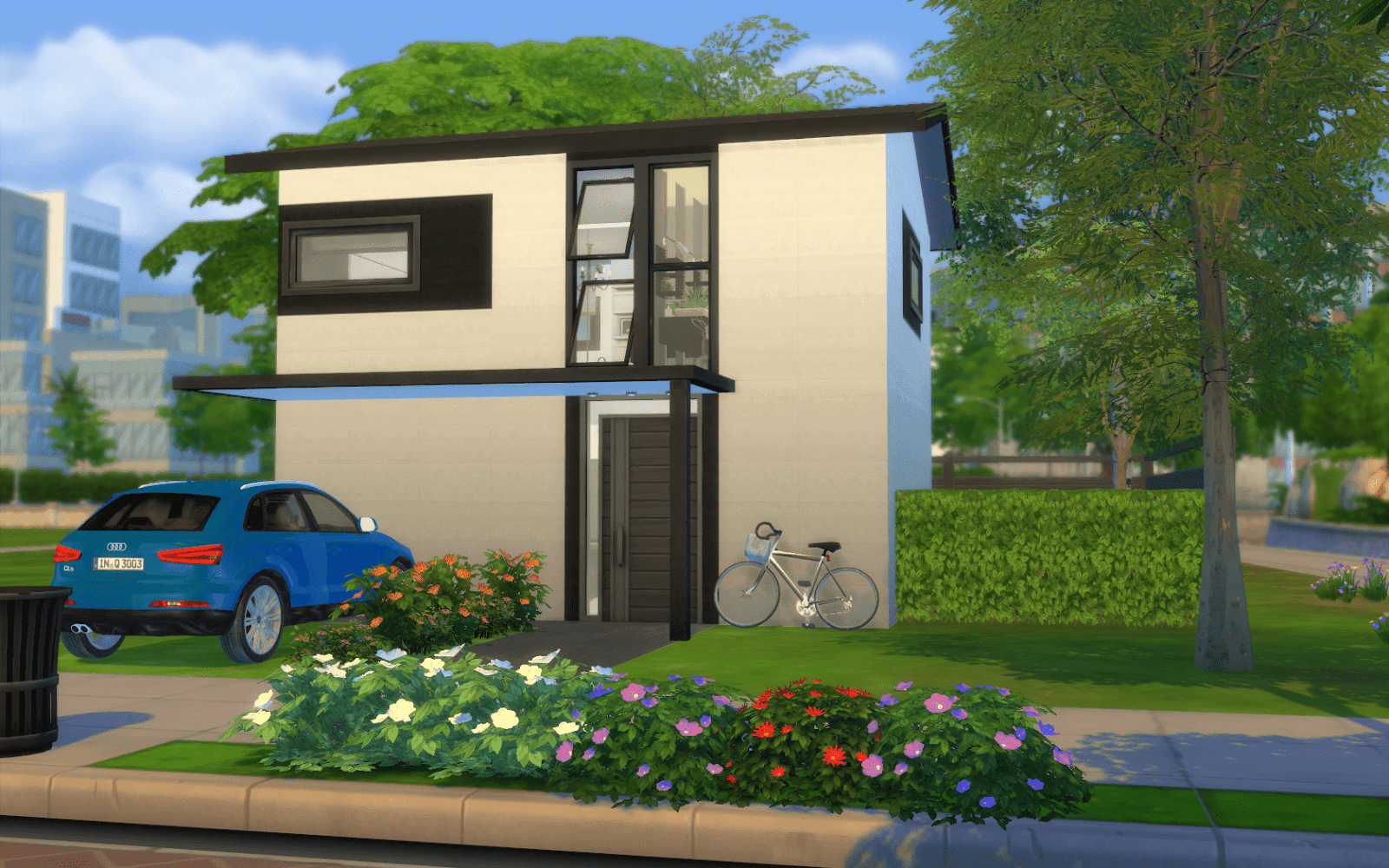 Pavillon n 12 for Maison moderne sims 4