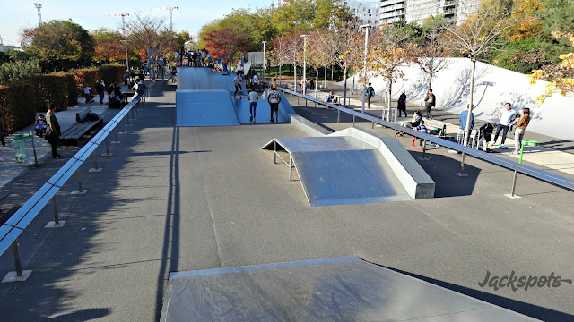 Skatepark 17e paris luther king