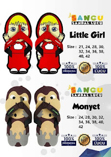 Little girl dan Monyet