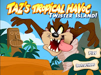 Let #Taz terrorize the natives in this #LooneytoonesGame. OnlineGames