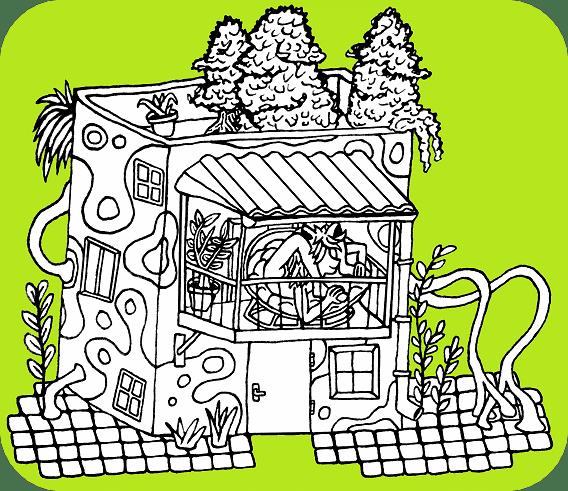 obrázek Wesmírodivná chatka, autor Sebastián Wortys