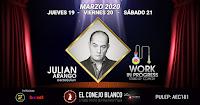 Stand up comedy junto a JULIÁN ARANGO