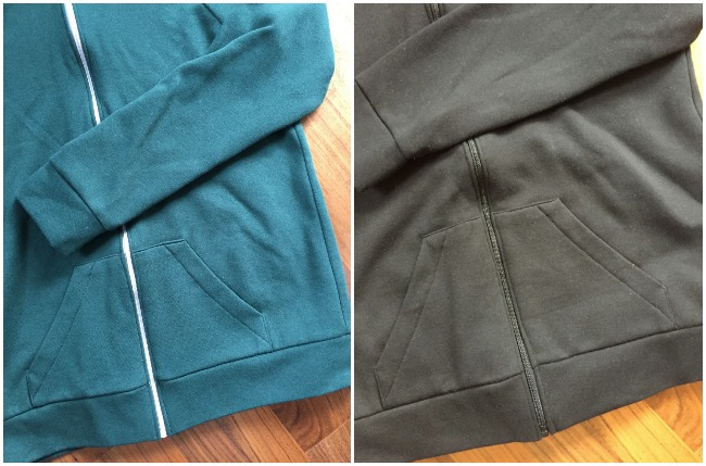 Diary of a Chain Stitcher: McCalls 6614 Mens Hoodie in Fleece-Backed Sweat-shirting