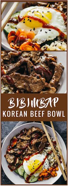 Bibimbap (Korean Beef Bowl)