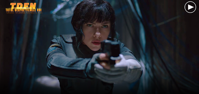 Primul trailer uimitor GHOST IN THE SHELL 2017