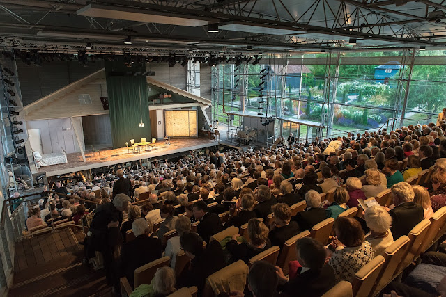 Garsington Opera inside the auditorium (Photo Clive Barda)