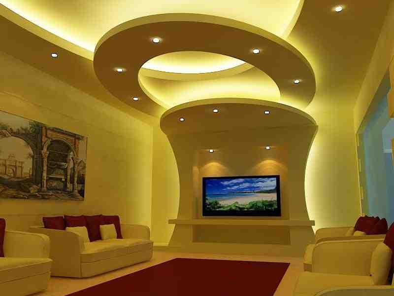 جبس يناسب لون الحائط وألوان الغرف والمقاعد، كما يجب التدقيق