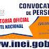 INEI - CONVOCATORIA NACIONAL: Aplicadores y Operadores Informáticos para Evaluación Docente (Junio 2018) MINEDU - www.inei.gob.pe