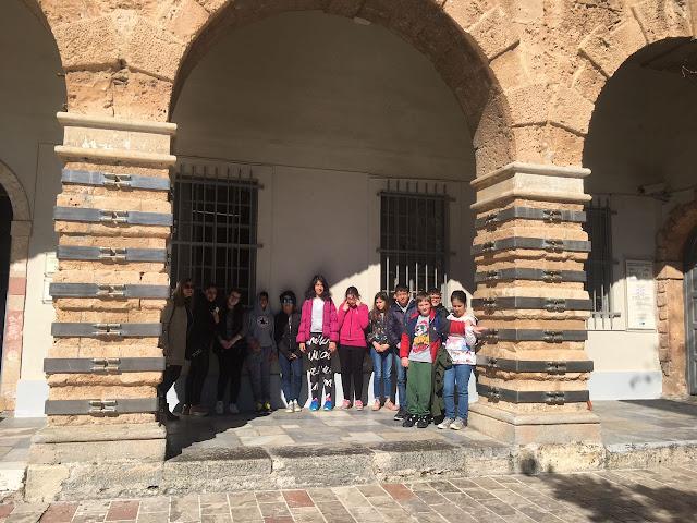 Επισκέψεις μαθητών του Ενιαίου Ειδικού Επαγγελματικού Γυμνασίου Λυκείου Αργολίδας στα μουσεία του Ναυπλίου