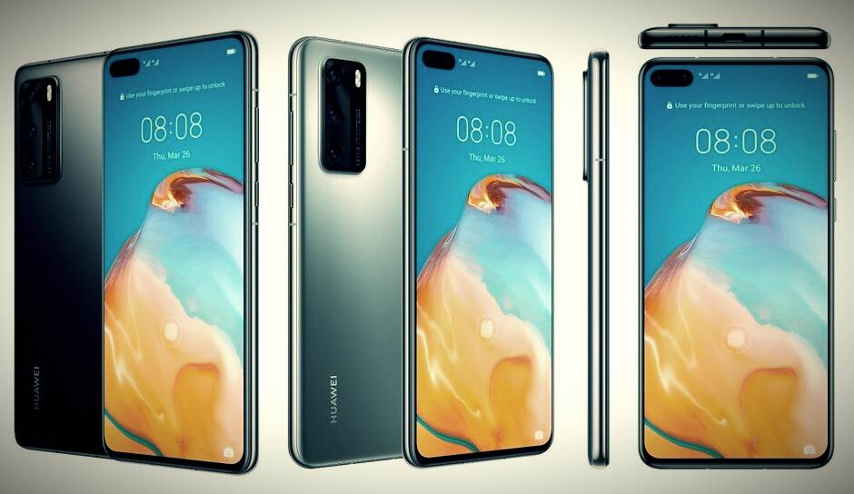 Huawei P40 / P40 Pro shape, hardware specifications full exposure