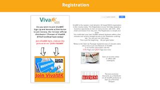 VivaMK Registration Information Worksocialmedia