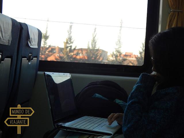 Viajar e trabalhar