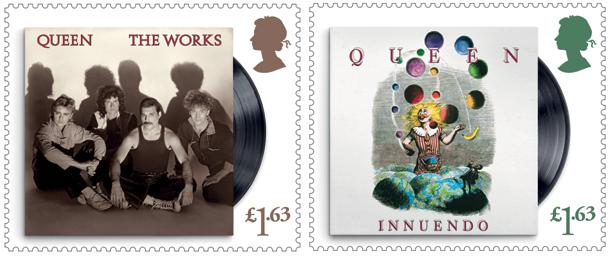 Queen Stamps 4