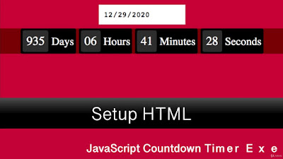 JavaScript Exercise Countdown Timer