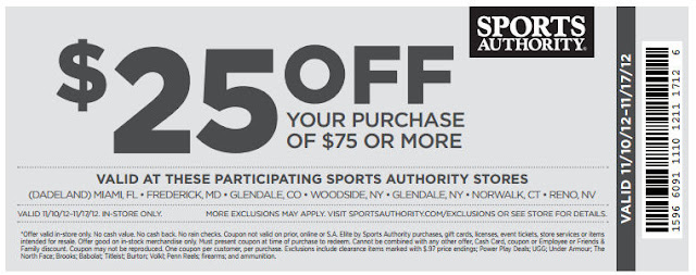 sports authority  off coupon may