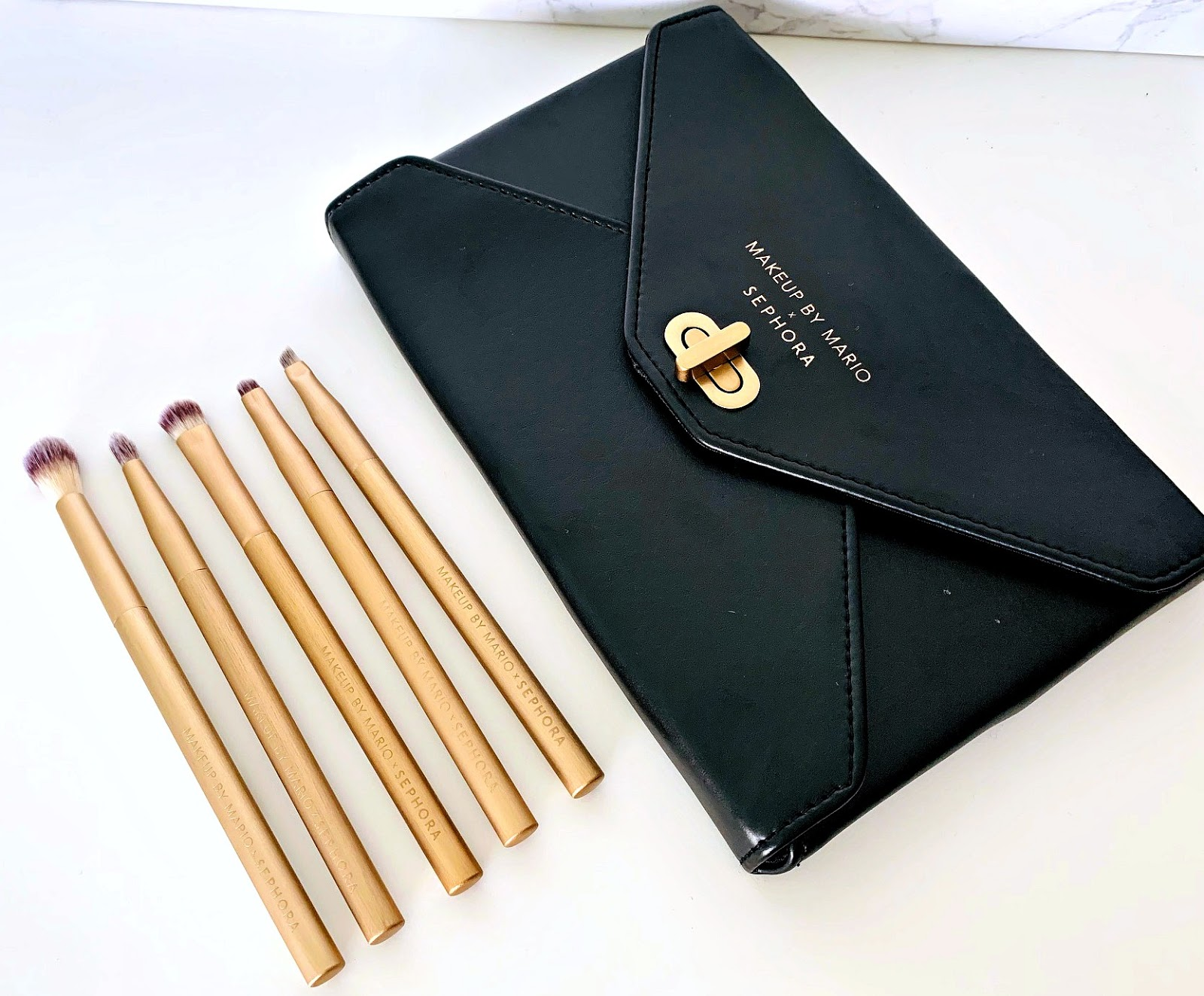 Makeup By Mario X Sephora Eye Brush Set Review