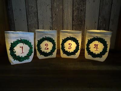 Lichtsäckchchen, Advent, Angies Kleiderschrank