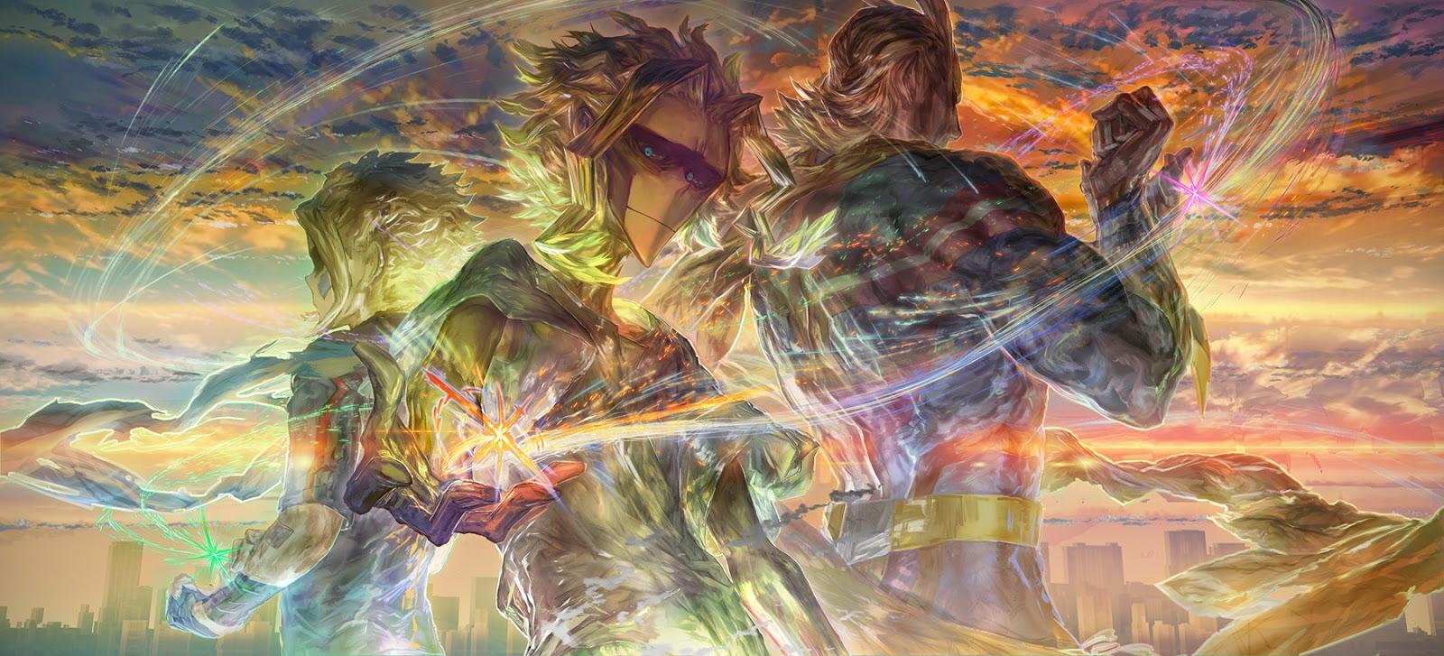 Boku no Hero Academia Chapter 142-2