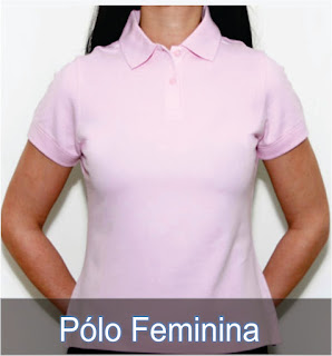 Camisas Pólos Feminina