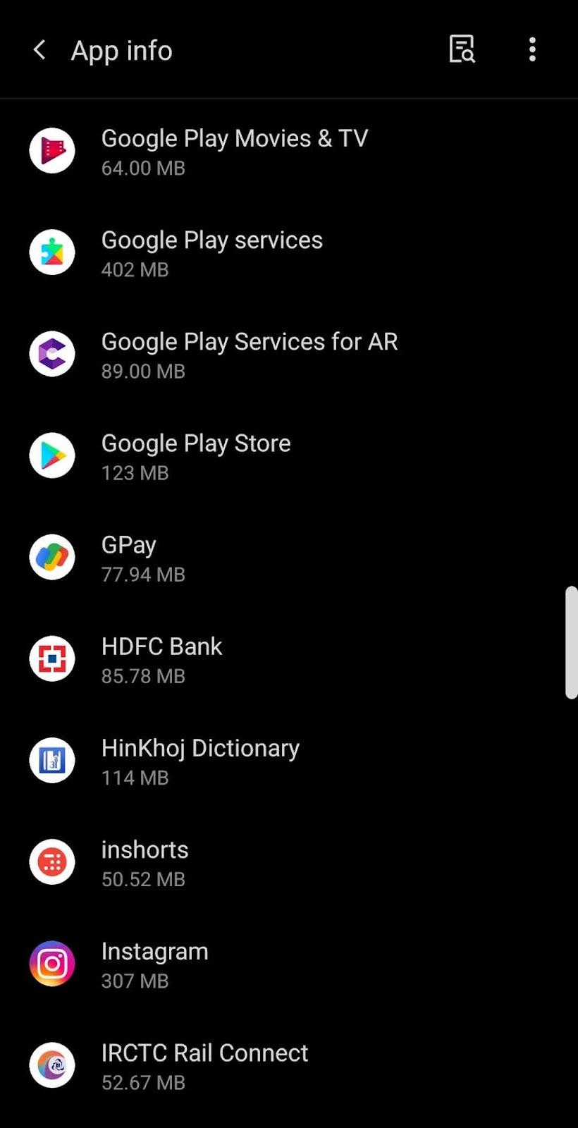 Select Google Pay