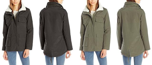 Madden Girl Wax Cotton Utility Jacket $30 (reg $90)