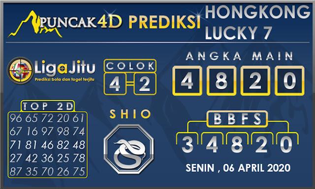 PREDIKSI TOGEL HONGKONG LUCKY7 PUNCAK4D 06 APRIL 2020