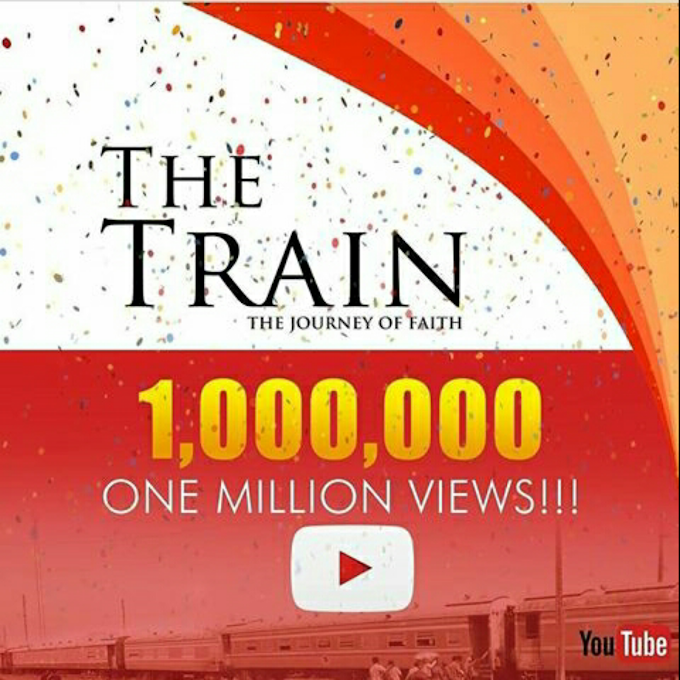THE TRAIN HITS 1 MILLION VIEWS ON YOUTUBE