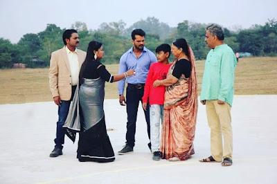 Pooja Ghosh movie shooting pics
