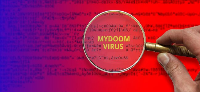 virus de computadora mydoom