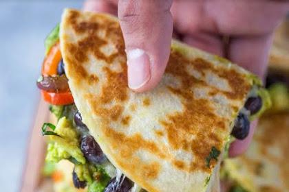 Recipe: Avocado Black Bean Quesadillas