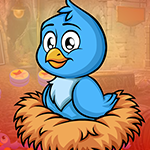 Play Games4King Blue Duckling …