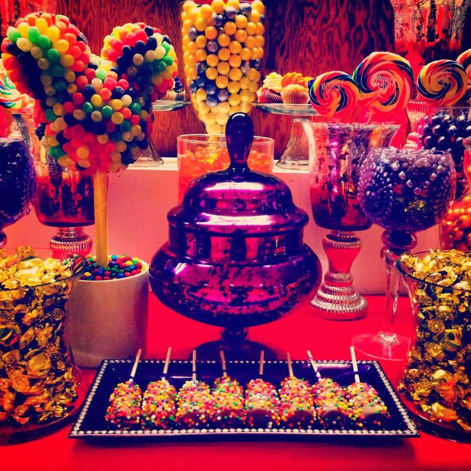 Mickey Mouse Clubhouse Theme Disney Birthday Party Candy Buffet Dessert Bar Custom Centerpieces Decor