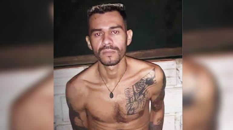 Lucas Resendi Saraiva, el reo brasileño del PCC que mató a dos hombres con una granada / RRSS