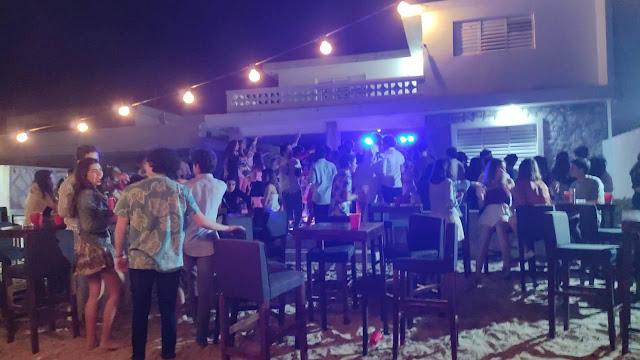 Clausuran fiesta en una casa de playa en Chicxulub Puerto