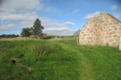 An old farm house on Muir of Dinnet