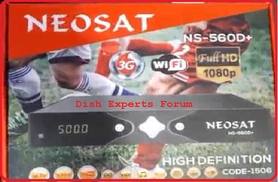 Neosat 650d new software download